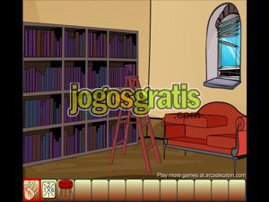 Escape Library Jogos de escapar