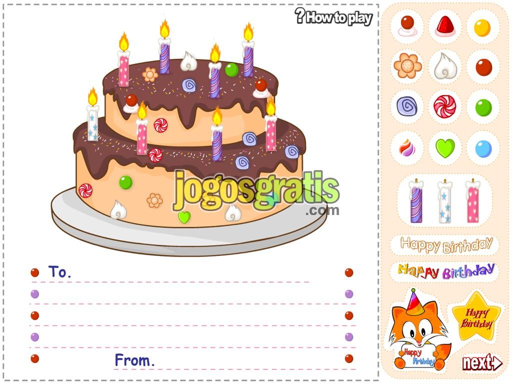 Игра раскраска тортов