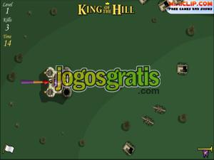 King of the Hill Jogos de defender a base