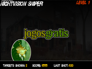 Nightvision Sniper Jogos de sniper