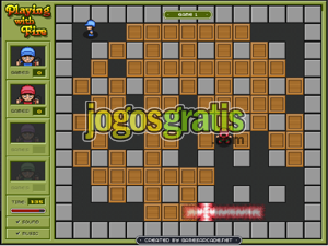 Playing with fire Jogos bomberman