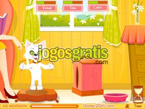 Virtual Cat Jogos de animais